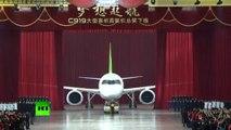 La Chine présente son premier avion pour concurrencer Airbus et Boeing