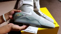 Power Lace Nike Air Mag  (Unboxing & Review) - Marty McFly (Back II The Future) from Repbeast.ru