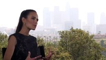 Jordana Brewster Interview Furious 7 (2015)