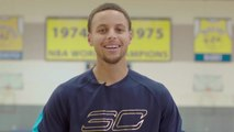 Golf Ninjas - Can Stephen Curry Play Golf on a Basketball Court?