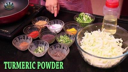 How to cook CRISPY CABBAGE II II By Chef Ms. Jyotshna Singh