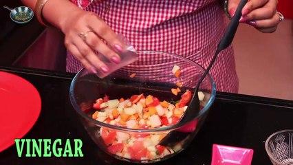 How to make HEALTHY CRUNCHY SALAD II II By Chef Ms. Jyotshna Singh