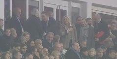 Quand Marine Le Pen et Daniel Percheron convoitent le même fauteuil lors d'un match de foot