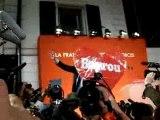 Bayrou au QG de l'UDF