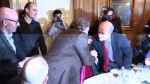 """Goncourt: Mathias Enard se dit """"extraordinairement heureux"""""""