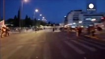 Manifestations En Gréce Athènes | manifestations contre laccord signé avec leurogroupe