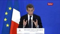 """Nicolas Sarkozy : """"pas d'aménagements de peines pour les peines supérieures à 6 mois"""""""