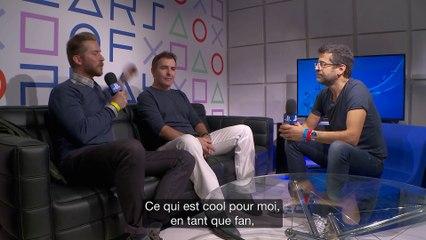 Interview de Nolan North et Troy Baker à la PGW 2015 de Uncharted 4 : A Thief's End