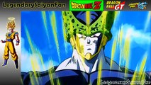 DBZ Remastered Goku Gives Up Against Perfect Cell (2K HD)
