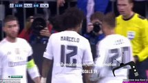 Marcelo se lesiona - Real Madrid vs PSG - Liga de Campeones - 03/11/2015