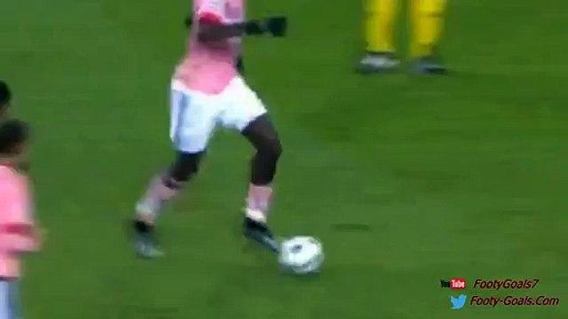 Stephan Lichtsteiner Goal - Borussia Monchengladbach vs Juventus 1-1 Champions League 2015