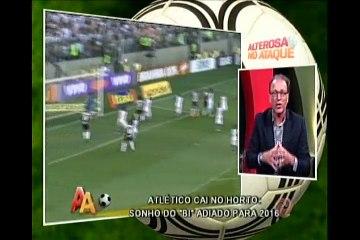 Atlético cai no Horto e sonho de bi é adiado para 2016