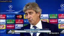 Sevilla vs Manchester City 1 - 3 - Manuel Pellegrini post-match interview