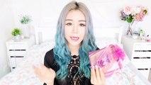 Huge Korean Skincare Haul Korean 2015 ♥ Monthly Beauty Subscription Unboxing ♥ Mask Cr