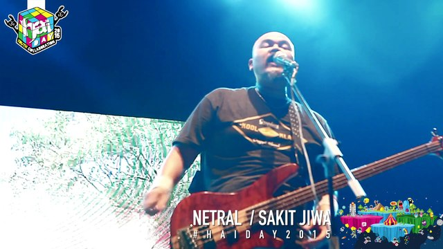NTRL - Sakit Jiwa Live at #HAIDay2015
