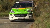 Championnat de France des Rallyes - L'Opel Adam Cup au Critérium des Cévennes 2015