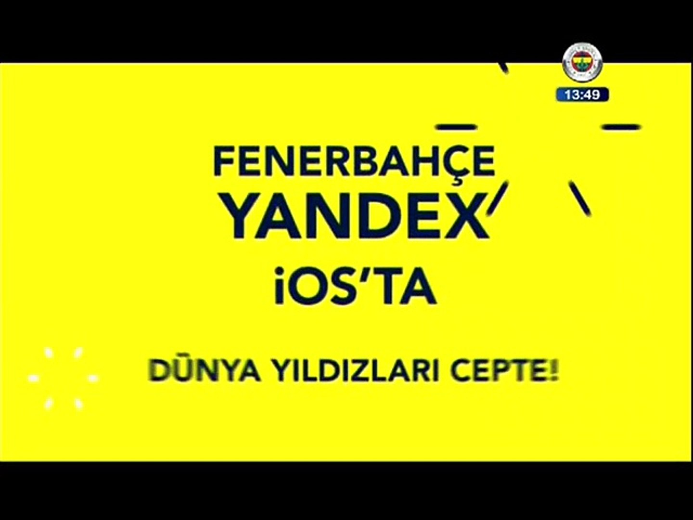 Fenerbahçe Yandex İOS'ta!