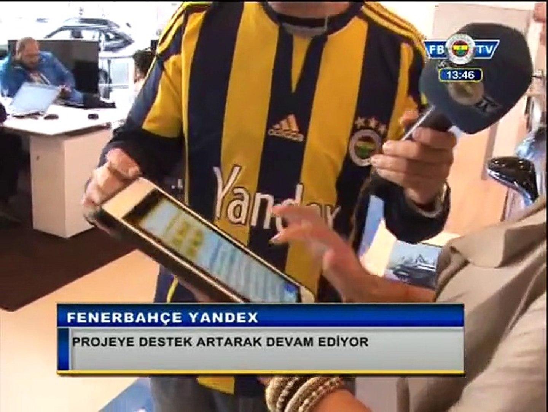 Fenerbahçe Yandex Projesine Destek Artarak Devam Ediyor.