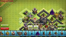 Clash of Clans Town Hall 7 Trophy Hybrid War Base - CoC TH7 Butterfly Defense Layout Speed Build