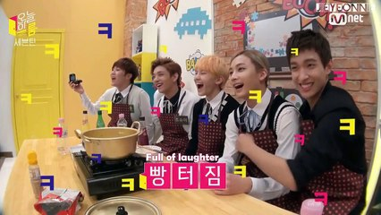 [ENG] 151021 SEVENTEEN Mnet's Today's Room EP 12 Part 3