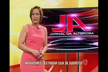 Moradores destroem loja de suspeito em Extrema, no sul de Minas