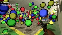 Gmod Matrix - Slow Motion Mod, Hungry Hippos, Dodgeball (Garrys Mod Sandbox Funny Moments