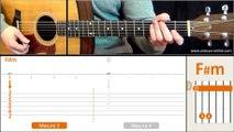 Jouer Cendrillon (Téléphone) - Cours guitare. Tuto + Tab