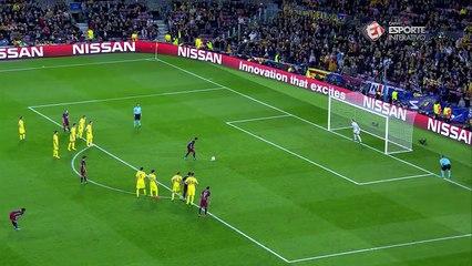 Gol - Neymar - Barcelona x Bate - Liga dos Campeões - 4ª rodada