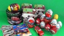 21 Kinder Surprise Eggs Porsche Edition, Cars MEGA PACK, Hot Wheels! - Unboxing!