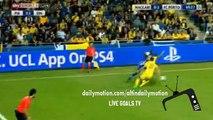 GOAL Javier 'Chicharito' Hernandez - AS ROMA 2 - 2 BAYER Leverkusen -2015 HD