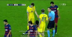 Sergio Busquets Gets Injured - Barcelona 2 - 0 BATE 04.11.2015
