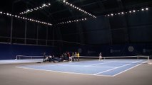 The BNP Paribas Masters in the eye of the players - The practice courts