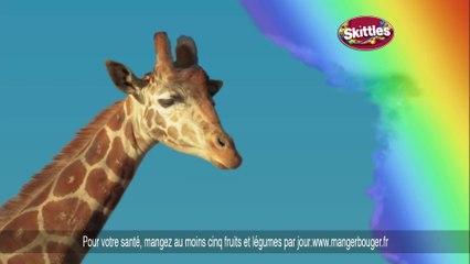 Publicité délirante de Skittles - La girafe