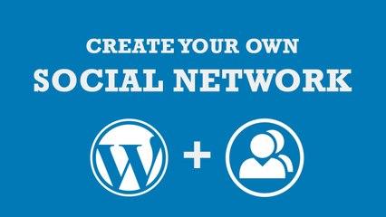 How to Create Social Network with WordPress - Urdu-Hindi