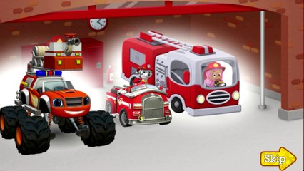 Kids Game Firefighters Paw Patrol Blaze Bubble Guppies Games Videos