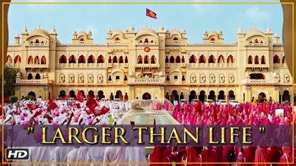 Prem Ratan Dhan Payo | Larger Than Life | Salman Khan & Sooraj Barjatya | Diwali 2015