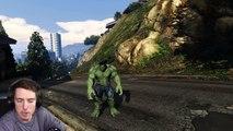 Hulk vs Plane || GTA 4 Hulk Mod Funny Moments || Balap Mobil Liar VS