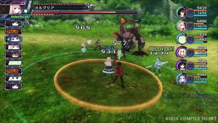 Overview Trailer de Fairy Fencer F : Advent Dark Force