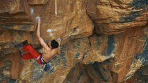 Jerome González Climbing The Savage New Route 'Cus Cus El...