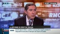 """Brunet & Neumann: Réforme du code du travail: """"Le mot révolution employé par Manuel Valls est excessif !"""" - 05/11"""