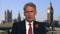 Hammond: Measures being taken to ensure safety of Britons