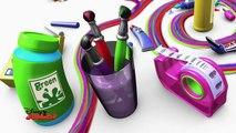 Art Attack - Technique de la plume décrivain - Disney Junior - VF