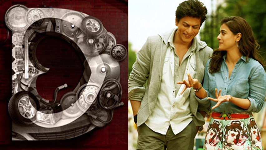 Shahrukh Khan Kajol Dilwale Second Teaser Poster OUT