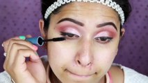 Eid Makeup : Daytime Glam Makeup and Hair Style | Get Ready With Me | 2015