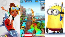Despicable Me 2 Minion Rush Snorkeler Subway Surfers New Character Kim Diva Outfit