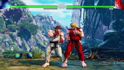 Tutorial Leaked Video de Street Fighter V