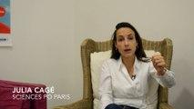 Lancement étude Sciences Po Paris - RSF - Spiil - par Julia Cagé