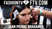 Jean Pierre Braganza Spring 2016 Makeup London Fashion Week | LFW | FTV.com