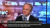 Le Front national est le 1er parti incendiaire de France ! Adrien Desport Cadre FN 4 ans d