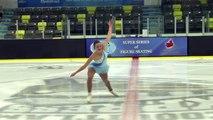 Julianne Delaurier - Senior Women Short - 2016 Skate Canada BC/YK Sectional Championships